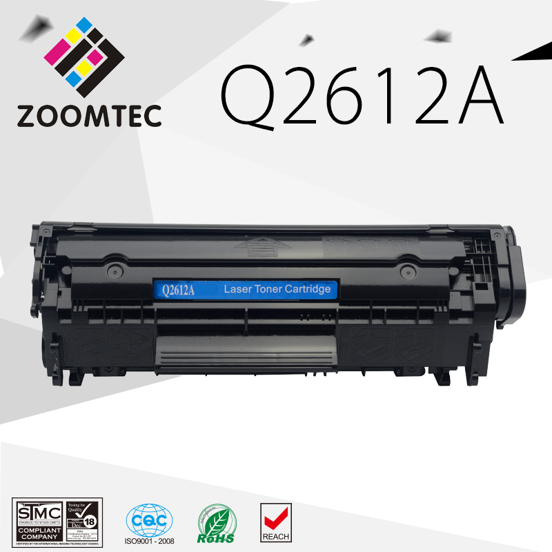 Q2612A 12A 2612 2612A toner-patrone für HP LaserJet 1010 1012 1015 1018...