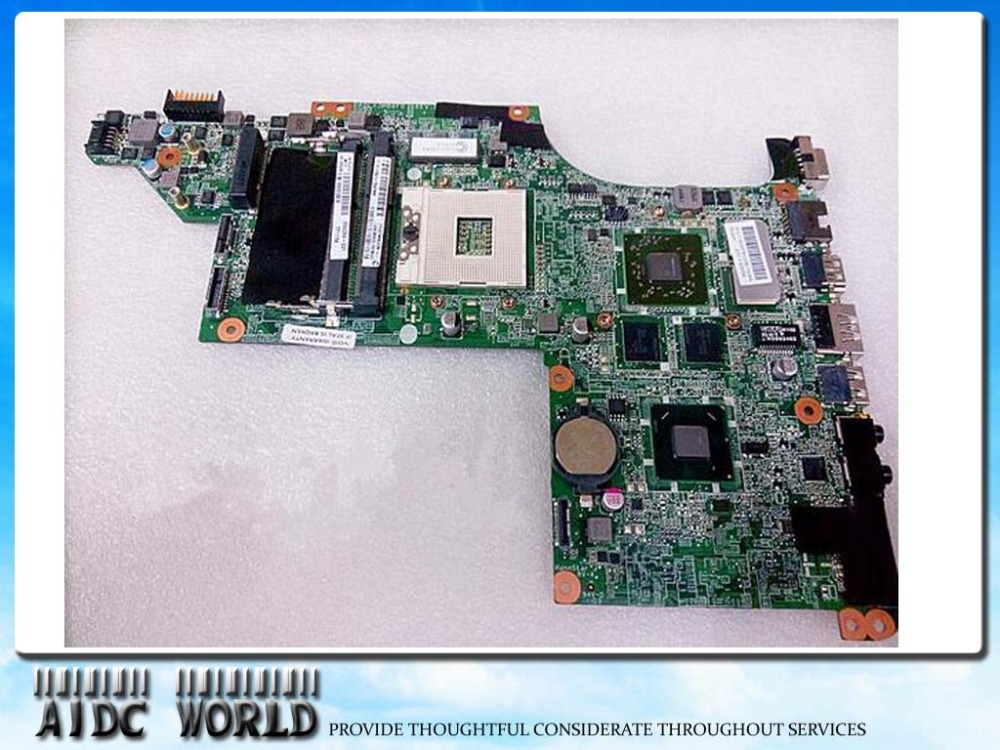 634259-001 for HP pavilion DV7 DV7T DV7-4000 DV7-5000 laptop motherboard for intel hm65 chipset,100% tested okay!