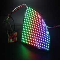 WS2812B 16*16 Pixel WS2812B Digital Flexible LED Panel WS2811 IC Individually addressable Color DC5V wholesale