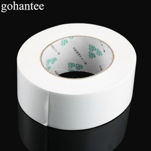 "gohantee Professional White Golf Grip Double Sided Adhesive Club Tape Strips 2.36""X50 Yds for Golf Regripping Accessories 1 Roll"