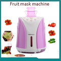 Free shipping DIY smart facial beauty care anti-aging whitening moistuized hydrating fruit and vegetable face mask maker machine