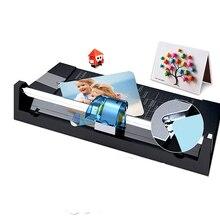 DIY Скрапбукинг портативный многофункциональный режущий станок триммер прецизионные бумажные открытки Файл Фото триммер режущие машины