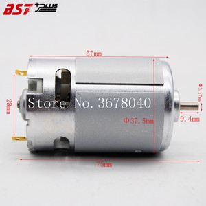 Image 3 - RS550Motor14Teeth (9 10 11 12 13 15 17 24T) (7.2 9.6 10.8 12 14.4 16.8 18 25V)Gear3mmShaft For Cordless Charge Drill Screwdriver