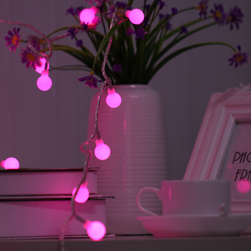 Guirlande Lumineuse Pisca Pisca De Natal Best Selling Products Small Ball Led Lights Batteries Operated String Christmas Light