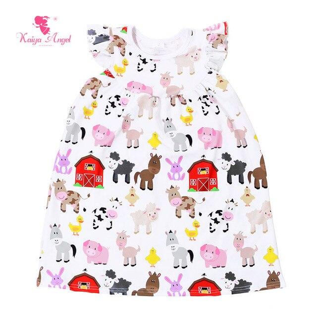 Kaiya Angel Baby Girls Dress Children S Dress Summer Girls Clothes