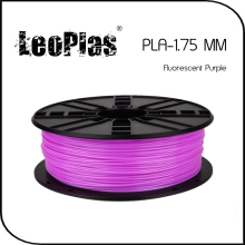 Worldwide Fast Delivery Direct Manufacturer 3D Printer Material 1 kg 2.2lb 1.75mm Fluorescent Purple PLA Filament