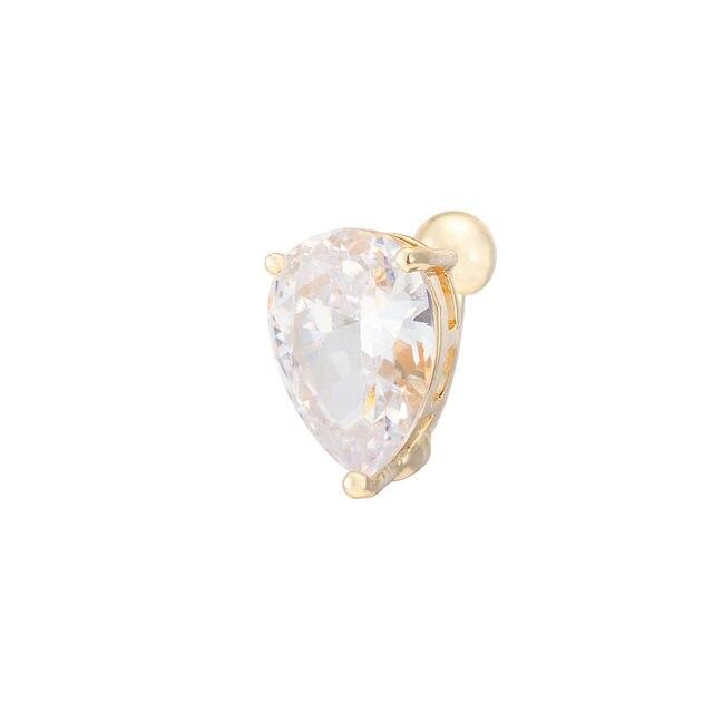Simple Heart Crystal Zircon...