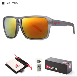 UV-Blocking Dragon Polarized Sunglasses Men Beach Sport Glasses Polaroid Unisex 60'mm Squared Sunglass With Free Package