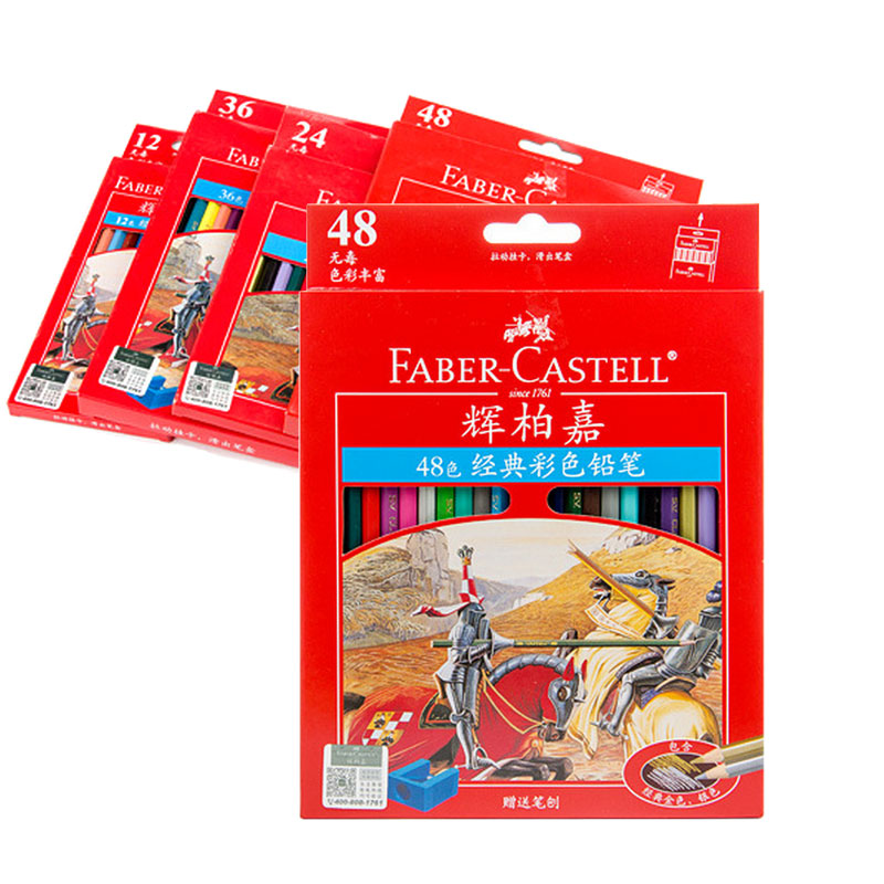 Faber Castell  Lapis De Cor Professionals Color Pencil Artist Painting For Drawing Sketch Oil Pencils Gift dali 16 1 20аб