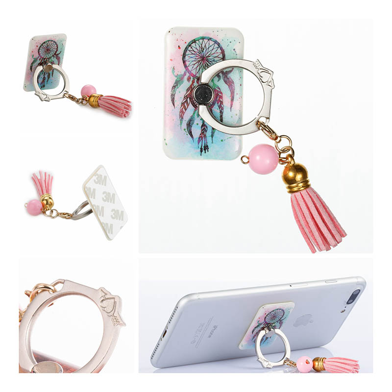 360 Degree Metal Finger Ring Holder Smartphone Mobile Phone Finger Stand Holder For iPhone 5S SE 6S 7 8 Plus X Ipad Tablet PC