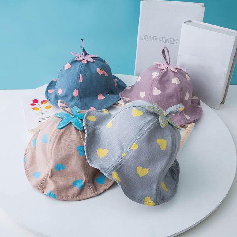 Autumn Heart Baby Hat