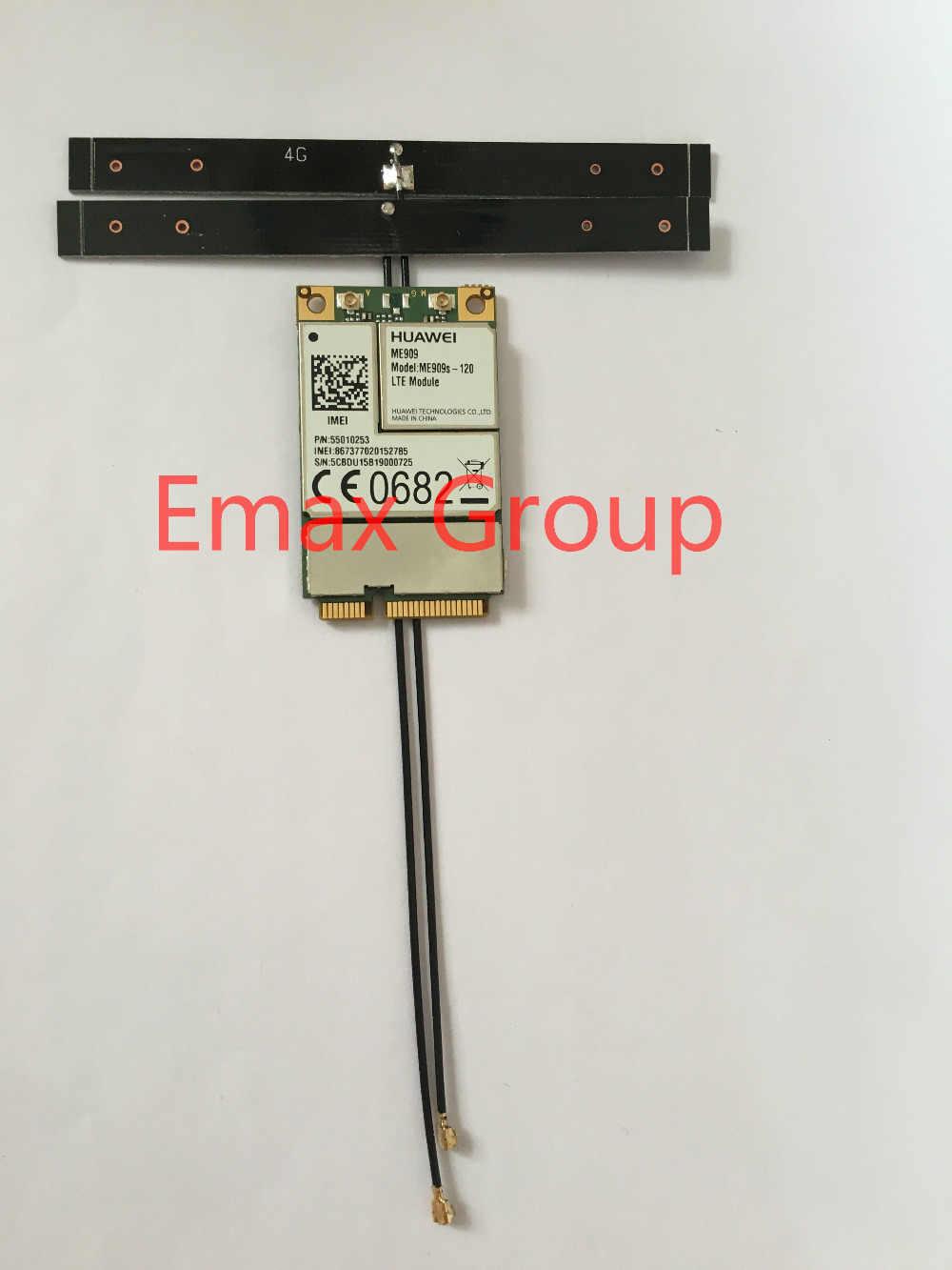 Di trasporto libero Mini PCIE ME909S-120 + 2 pz 15 cm 4g TDD-LTE FDD-LTE Antenna Interna B1/B2/ b3/B5/B7/B8/B20 JINYUSHI magazzino