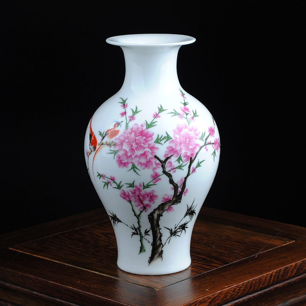 Free Shipping Mini delicate chinese famille rose porcelain flower - Home Decor - Photo 6