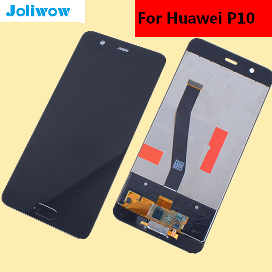 5 1 quot FOR Huawei P10 VTR L09 VTR L10 VTR L29 LCD Display Touch Screen With Fingerprint Digitizer Assembly Replacement in Mobile Phone LCD Screens from Cellphones amp Telecommunications