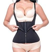 Боди Для женщин для похудения талии тренер горячие тела шейпер для живота талии Cincher бак утягивающее белье топы пояс для похудения живота