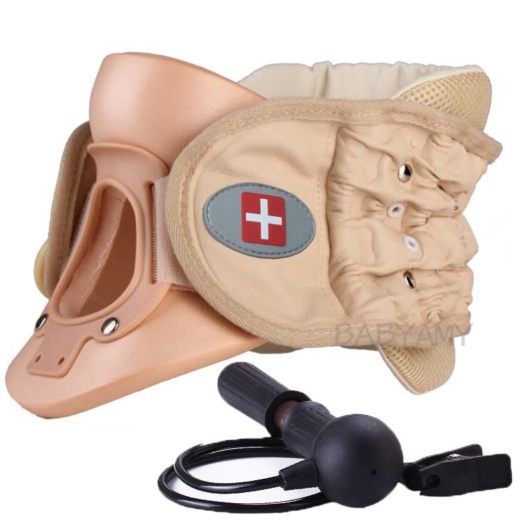 CR 802 Cervical Vertebra Brace Air Traction Therapy Item Belt Neck Pain Release Support neck cervical
