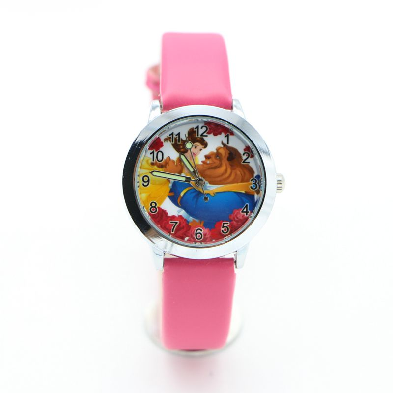 New Fashion Beauty And The Beast Watches Children Kids Boys Gift Watch Casual Quartz Wristwatch Relogio Relojes