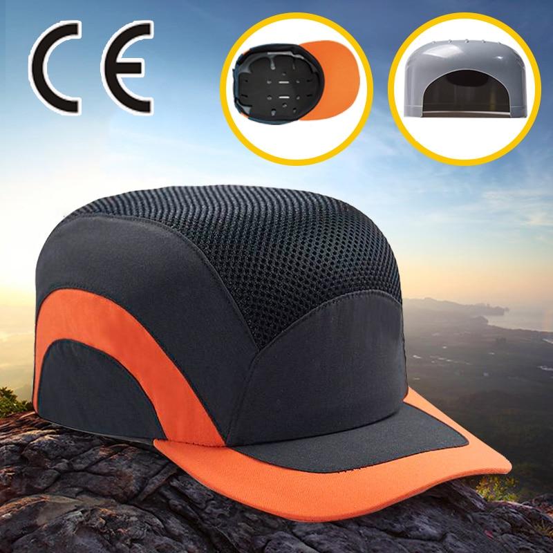 цена на Black Baseball Bump Cap Lightweight Safety hard hat head protection Cap
