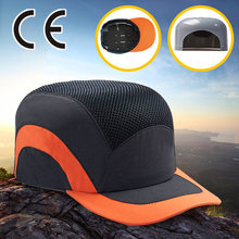 Black Baseball Bump Cap Lightweight Safety hard hat head protection Cap(China)