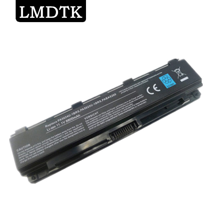 New 12cells laptop battery FOR TOSHIBA Satellite C805 C855 C870 C875 L830 L850 L855 M800 PA5024U-1BRS  PA5023U-1BRS PA5025U-BRS toshiba portege z 830