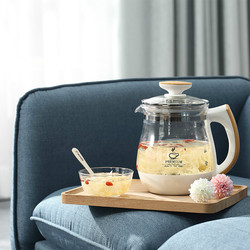Electric kettle Full automatic thickened glass multi-function flower teapot black tea brewed heater Safety Auto-Off Function