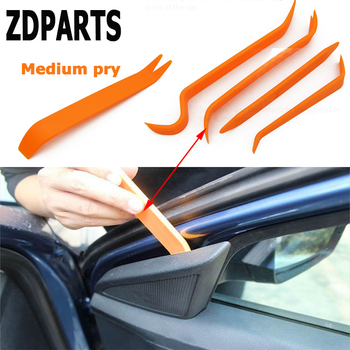 ZDPARTS 4PCS For Mercedes Benz W203 W211 W210 W204 Citroen C5 C4 C3 Seat Leon Jeep Car Audio Door Removal Tool Accessories Cover image