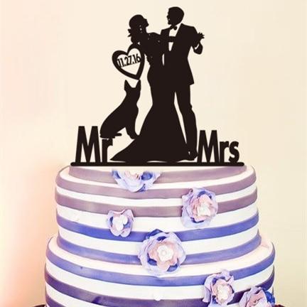 Tort de nunta Toppers Figurine, Cort de nunta personalizat Topper - Produse pentru sărbători și petreceri