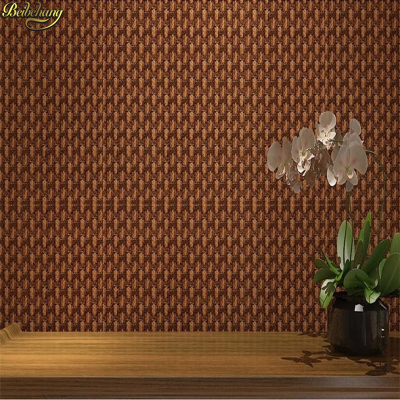 beibehang Classical mattressed rattan wallpapers 3D Stereo Sackle Bamboo Bamboo Bookstore Tea House Wall Background Wallpaperbeibehang Classical mattressed rattan wallpapers 3D Stereo Sackle Bamboo Bamboo Bookstore Tea House Wall Background Wallpaper