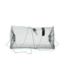 1 PCS Foldable Nylon Fishing Net Catch Crab Fish Crawdad Shrimp Minnow Mesh Cage Fishing Bait Trap Cast Dip Drift Shrimping Net