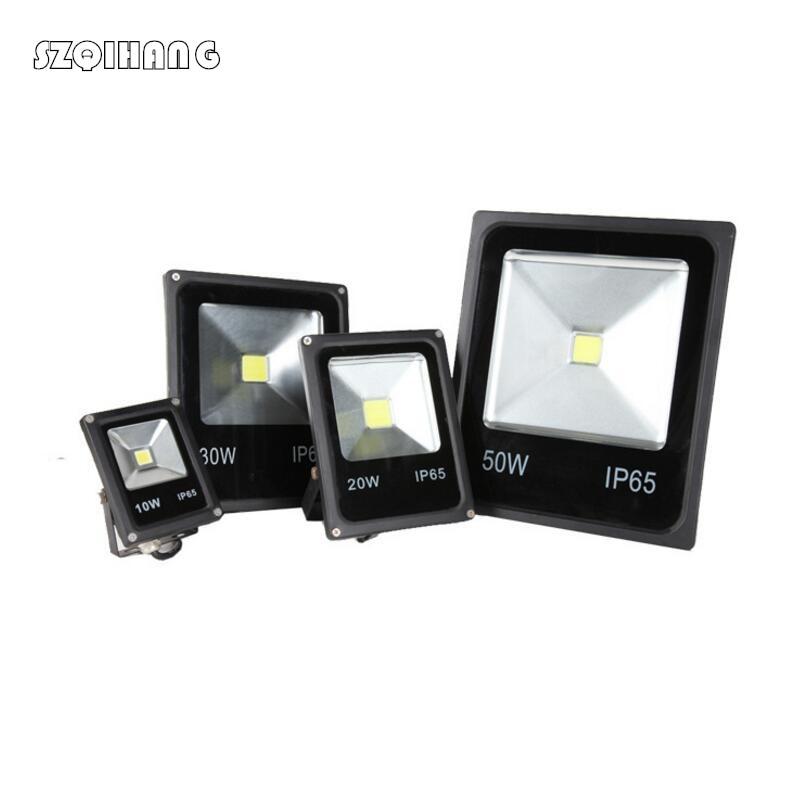10W//20W//30W//50W LED Floodlight Spot Light Outdoor Garden Waterproof Black Lamp