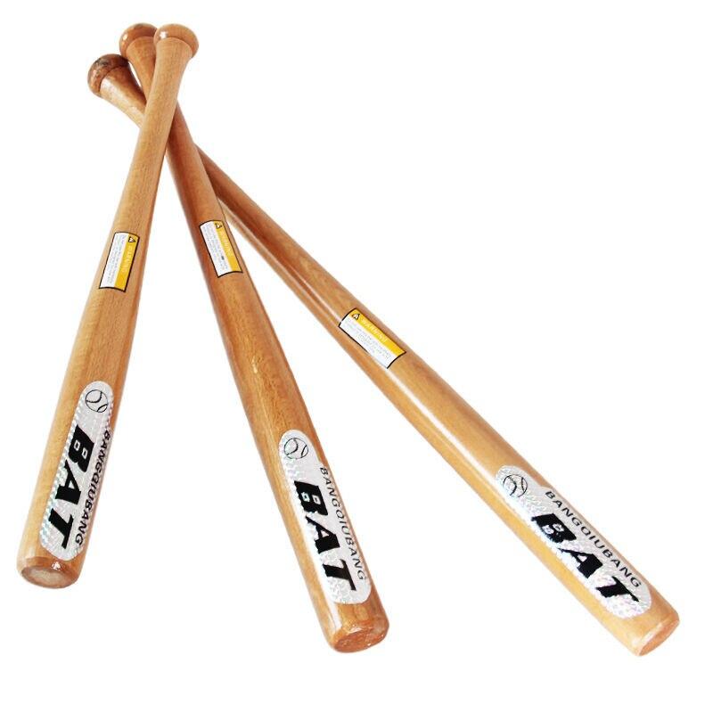 25 Inch 29inch Wooden Baseball Bat Wood Softball Bat Outdoor Sports  Exercise Bat pick size-in Baseball & Softballs from Sports & Entertainment  on