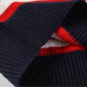 Image 5 - Suéter listrado infantil, blusão de malha para meninos, meninas, primavera e outono, roupas infantis para crianças, 2 a 7 anos, 2020