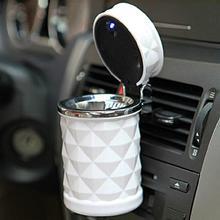 Портативный Автомобильный светодиодный дорожный пепельница контейнер сигаретное устройство для удаления дыма