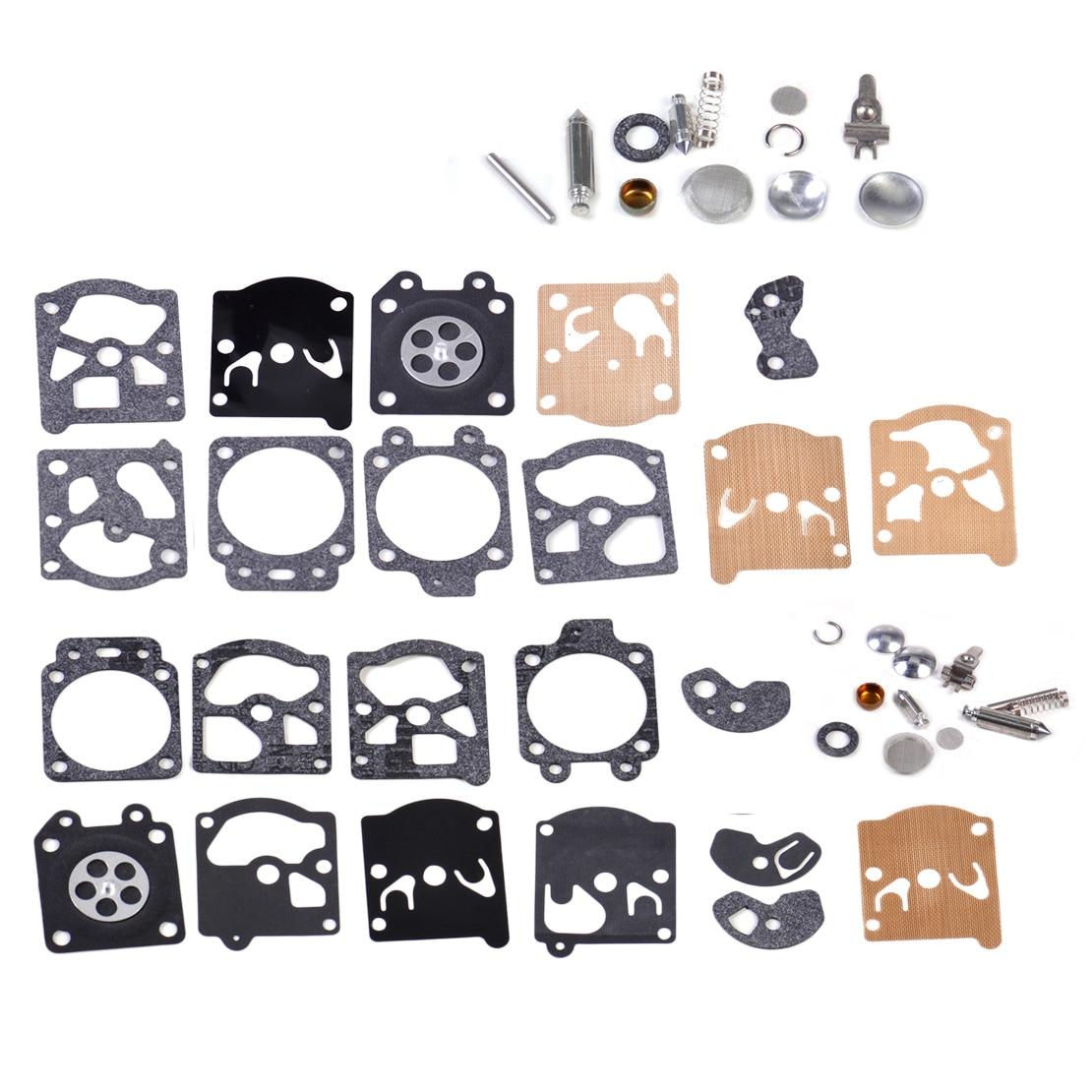 LETAOSK New Carburetor Rebuild kit Carb Gasket Diaphragm Repair fit for Walbro K10-WAT K20-WAT WA WT Series 2017 new arrival carburetor carb gasket diaphragm replacement kit fit chainsaw for rb 39 c1q serise