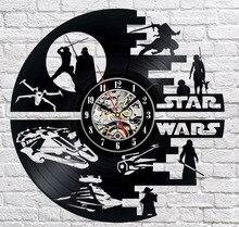 Creative Clock CD Vinyl Record Wall Clock  Home Decor 3D Hanging Watches Duvar Saat Reloj de pared