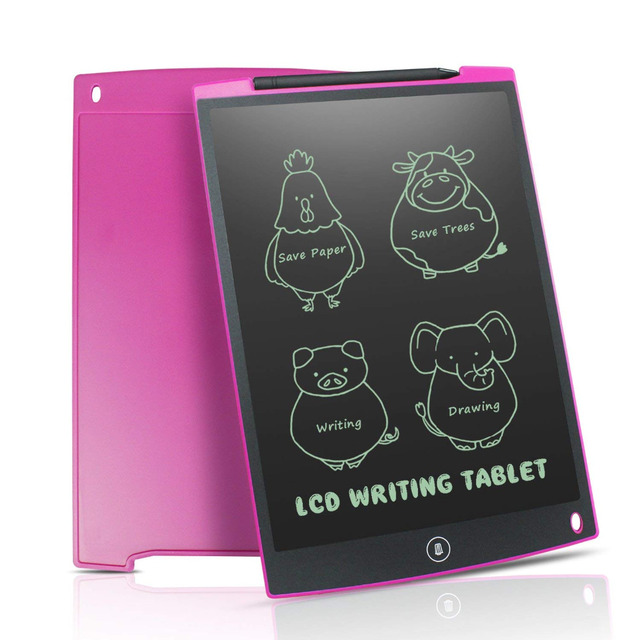 NEWYES 12″ LCD Writing Tablet Digital Drawing Tablet Handwriting Pads Portable Electronic Tablet Board ultra-thin Board with pen