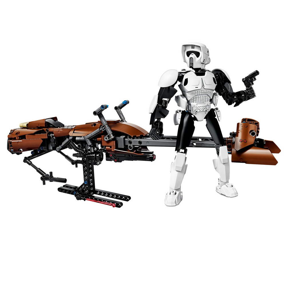 2017 New 2pcslot Star Wars scout