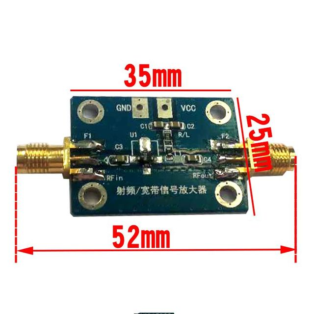 New Arrival 0 1 2000mhz Rf Wideband Amplifier Gain 30db