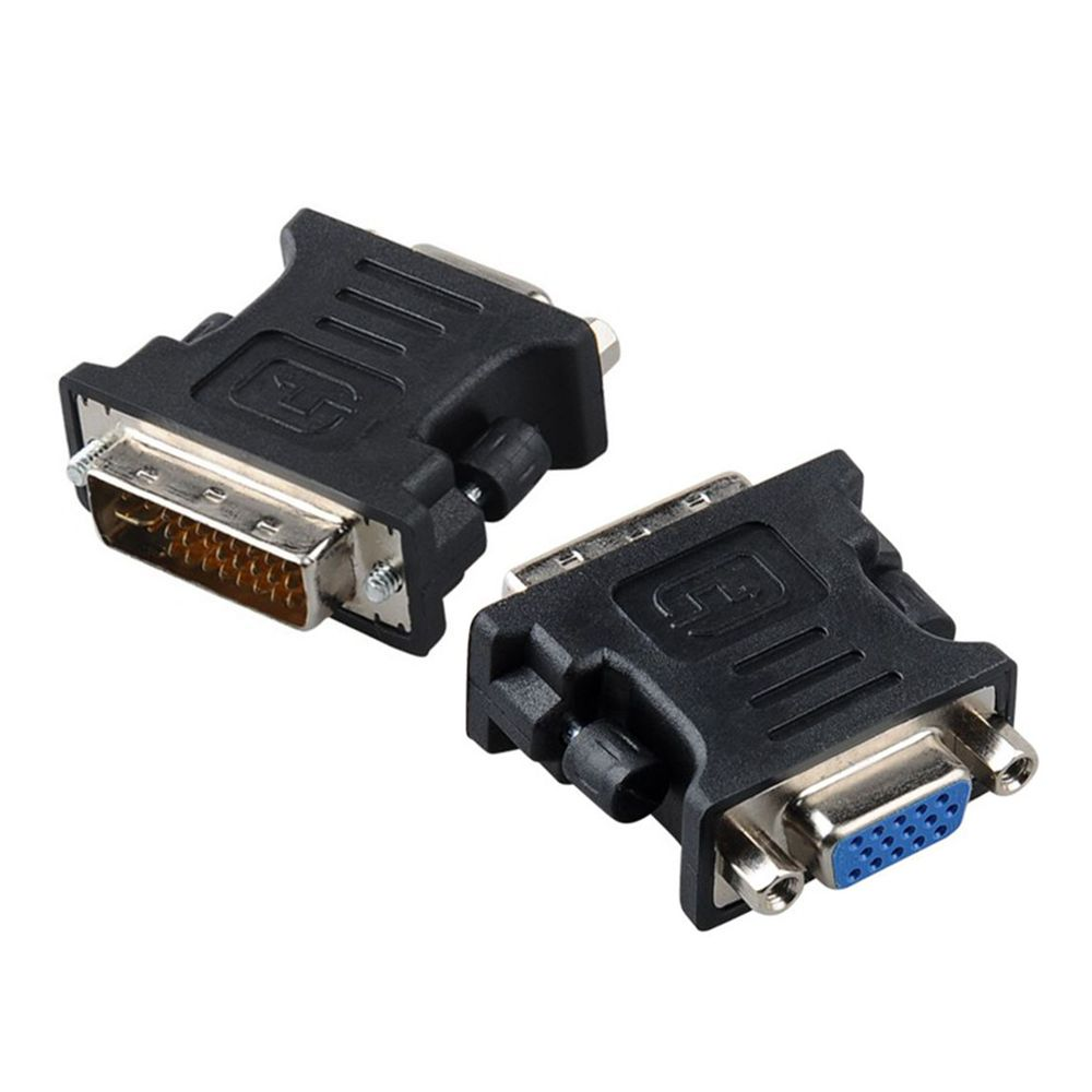 DVI 24+5 Male to VGA Female VIDEO Monitor projector Adapter Converter dvi vga adapter connector adaptor dvi 24 5 male to component video female adapter