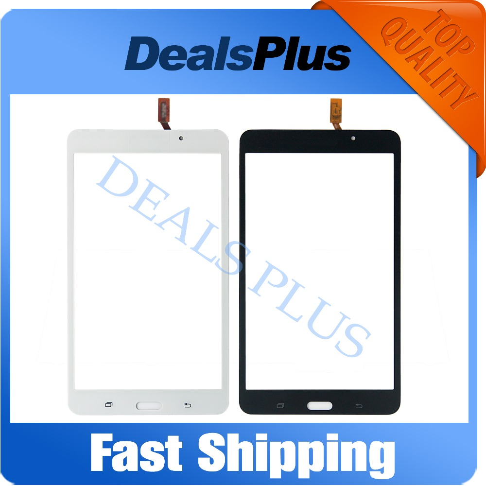 Replacement New Touch Screen Digitizer Glass For Samsung Galaxy Tab 4 7.0 SM-T230 T230 Wifi Version Black White Free Shipping free tools replacement for samsung galaxy tab s 10 5 sm t800 touch screen digitizer replacement white track code