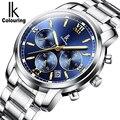 Часы мужские  модные  спортивные  механические  мужские часы от топового бренда  Роскошные  полностью стальные  водонепроницаемые  золотые  ...