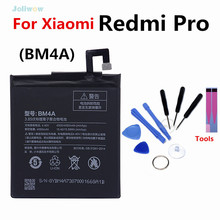 цена на For xiaomi BM4A Battery 4000mAh Replacement Authentic Phone Batteries for Xiaomi Hongmi Redmi Pro Battery Replacement