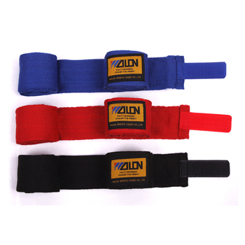 2pcs/rolka szerokość 5cm długość 2.5 M bawełna pasek sportowy boks bandaż Sanda Muay tajski MMA Taekwondo rękawice ręczne okłady