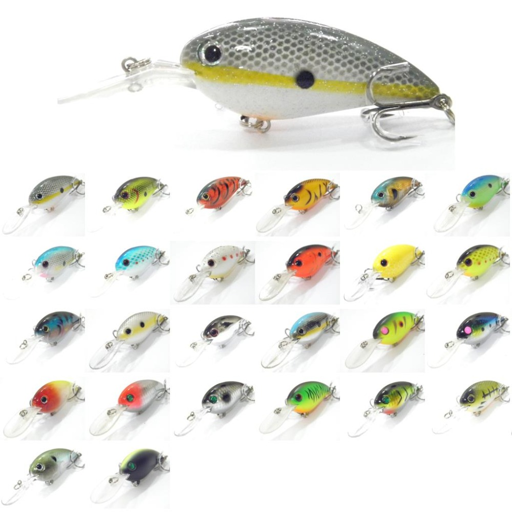 wLure Crankbait Hard Bait Deep Diver Jerkbait Slow Floating Wide Wobble 10cm 15g Fishing Lure C55
