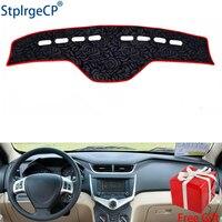 Rose Pattern Non slip Car Dashboard Cover Dash Mat Pad DashMat ANti UV Car Sticker for CHERY fulwin 2 2013 2014 2016 Car Styling