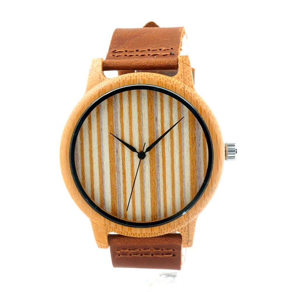 b4773d40d0da5 Rodada de quartzo analógico couro relógios dos homens com belas imagens  para o marido de resina