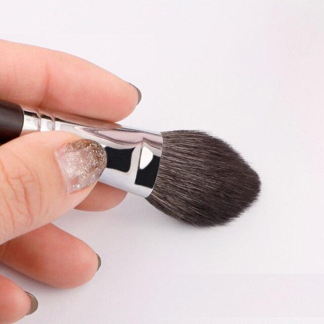 MyDestiny Ebony-Series Cheek Brush - Tapered Precision Powder/Blush Face Brush 3