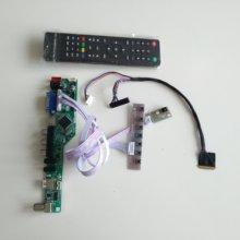 TV HDMI AV VGA USB AUDIO LCD LED zestaw płyty kontrolera wyświetlacz dla N156BGE L21 1366X768 panel ekran