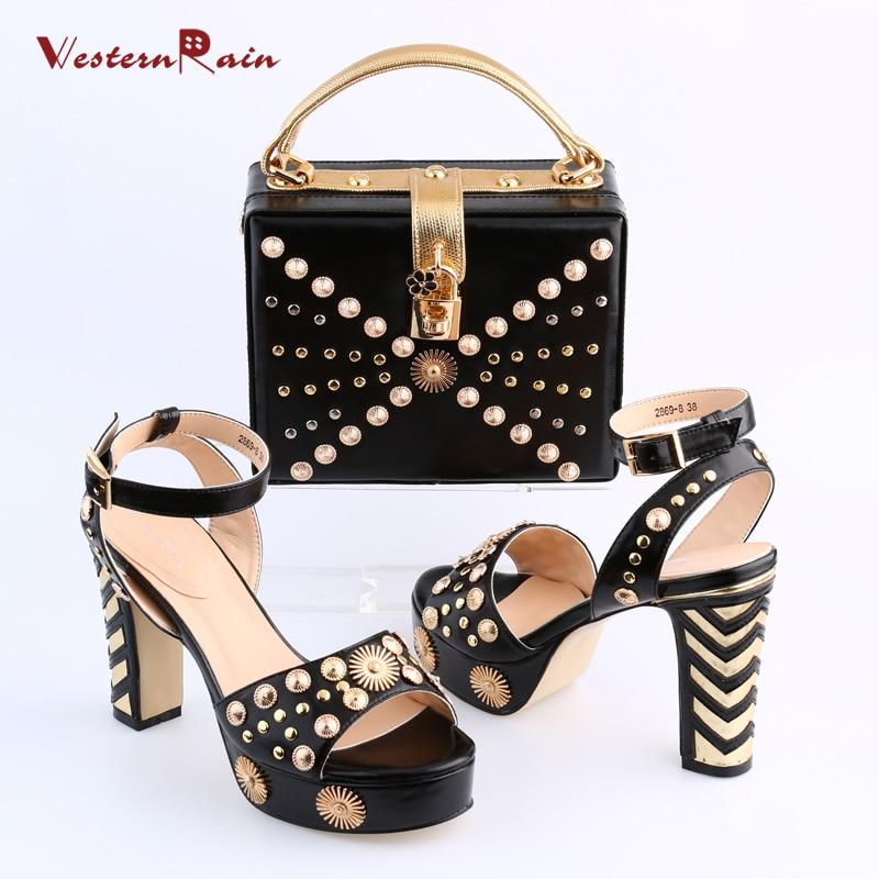 WesternRain Women Shoes High Heel Sapato Feminino Italian ...