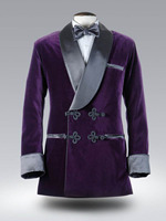 Tailor Made 2017 Autumn Winter purple Velvet Tuxedos Mens Wedding Prom Party Suits blazer singer best man jacket Stage costume